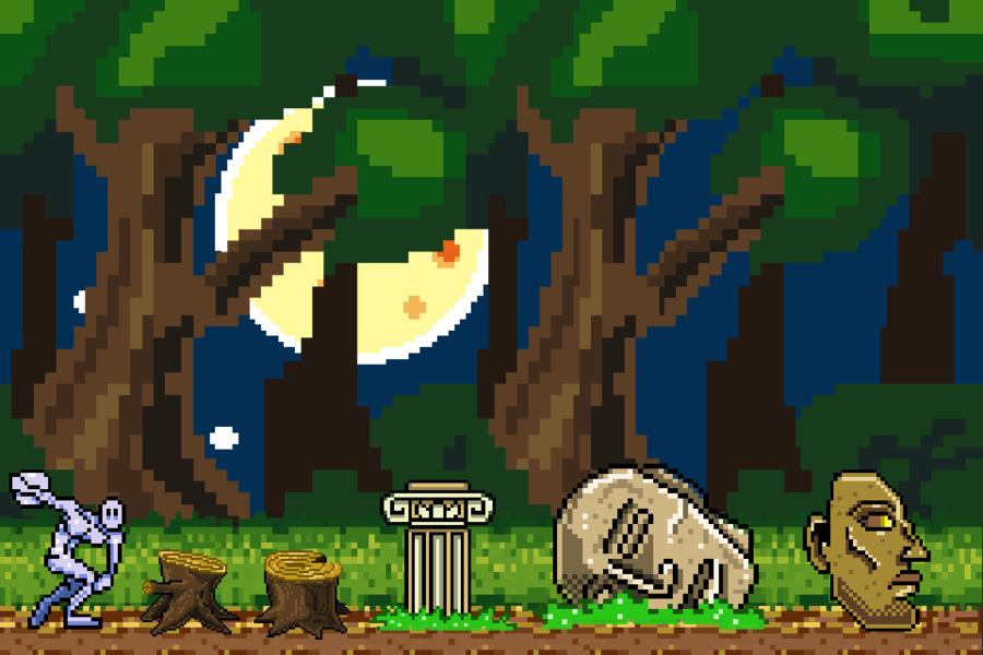 stage_and_obstacles_pixel_art___commission_by_supermanosbros-d619zt5